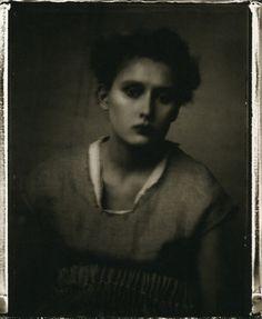Audrey Tchekov, 1998 - Sarah Moon,  from Coïncidences