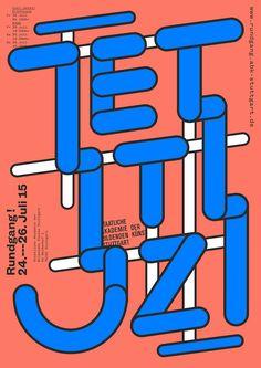 Ausstellung »100 beste Plakate 15« | Slanted - Typo Weblog und Magazin