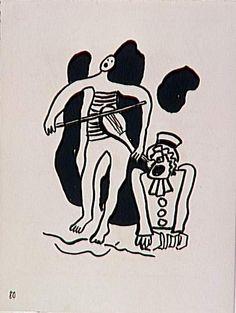 Album : Le Cirque. Léger, 1950.