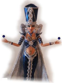 Serapiis Egyptian Princess Barbie Doll from Bethboul |