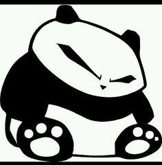 Panda Decal Sticker illest JDM Dope Drifting