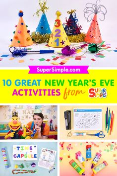 Check out our Top Ten Ideas for ringing in the new year with kids!