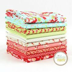Little Ruby Fat Quarter Bundle | Bonnie and Camille | Southern Fabric