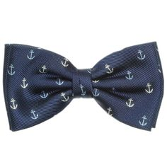 anchor bow tie - for the groomsmen if the wedding goes nautical. :)