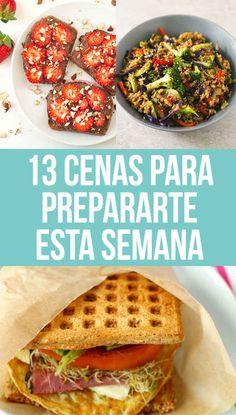 13 Cenas rápidas y deliciosas para los que les da flojera cocinar