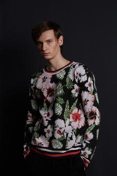 Men in Flowers