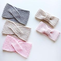 Neuen Alle : Merino dressings in stock and on order for . Crochet Bows, Crochet Gifts, Crochet Yarn, Knitted Headband, Crochet Beanie, Diy Headband, Baby Hats Knitting, Knitted Hats, Knitting Patterns