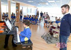 El alumnado que estudia un instrumento musical en el centro realizó un ensayo de la audición que tendrá lugar el próximo 24 de mayo. Pianos, guitarras, batería, bajo, trompeta y clarinete son una muestra de la variedad instrumental que ofrece #ColegiosISP.  #extraescolaresISP #MúsicaISP