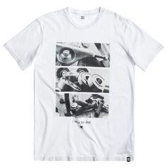 DC Skateboarding Tool 02 tee-shirt avec photo de trucks roulements vis de skate…