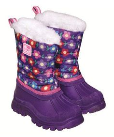 Fuchsia Cozy Snow Boot | Daily deals for moms, babies and kids #cyberweek shopping