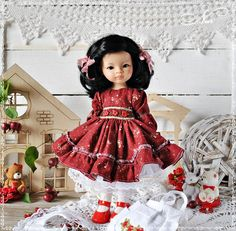"""Платьишко для куклы"" : 1) https://vk.com/wall-137730007_1874 2) https://pp.userapi.com/c837134/v837134707/775ba/HOhN9H6wB7U.jpg"