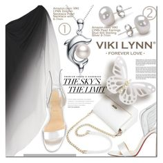 """""""Viki Lynn 1"""" by barbarela11 ❤ liked on Polyvore featuring Halston Heritage and Christian Louboutin"""