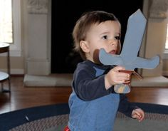 How to Make a Wooden Sword for Your Kid