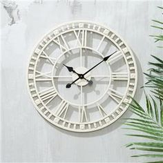 This would look so good mounted to some pallets Outdoor Clock Skeleton Wall Clock, Kmart Decor, Outdoor Clock, Metal Wall Sculpture, Home Decor Furniture, Furniture Ideas, Metal Wall Decor, Kmart Hack, Wall Clocks