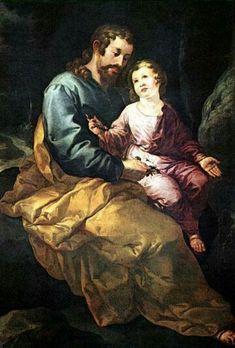 Fco Herrera el Viejo, San José con el Niño, Museo Lázaro Galdiano