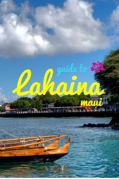 On your next visit to Maui, Hawaii, make sure you stop by the beautiful historic town of Lahaina for some fresh seafood, drinks, and fun. Trip To Maui, Hawaii Vacation, Vacation Trips, Vacation Spots, Vacation Ideas, Italy Vacation, Hawaii Trips, Lahaina Maui, Oahu