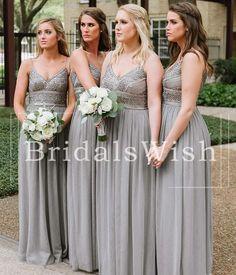 Dark Grey Bridesmaid Dresses, Grey Bridesmaids, Azazie Bridesmaid Dresses, Bridal Gowns, Wedding Gowns, Vail Wedding, Wedding Designs, Wedding Ideas, Grey Fashion