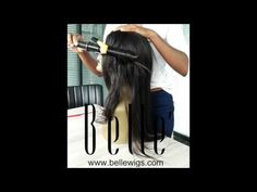 different roller ways get different looking of Bellewigs straight wig