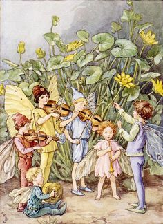 "Cicely Mary Barker , ""The Fairy Orchestra""♥"