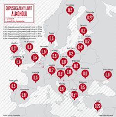 Limity alkoholu we krwi w Europie i kary za ich przekroczenie - WP Moto