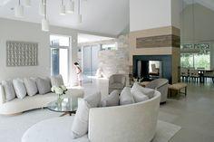 Modern Farmhouse - farmhouse - living room - new york - Betty Wasserman. Just fabulous.