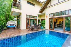 Mai 2020 - Gesamte Unterkunft für New 4 Bedroom Private Villa (total five rooms) with private pool and private parking(Chaweng Noi). - Living room with kitchen, four rooms - Three. Ko Samui, Surat Thani, Four Rooms, Villa With Private Pool, Kos, System Kitchen, Thailand, Kitchen Ware, Living Room