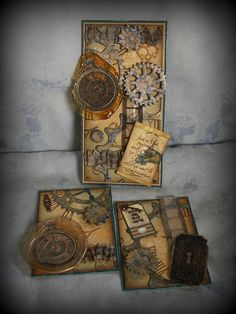 Pushing The Right Buttons: Tim Holtz Jan. 2013 tag