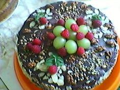 wegańskie jedzonko: Tort orzechowo-kokosowy