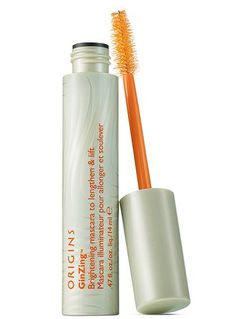 Origins GinZing mascara - its like a stain for your eyelashes...doesn't feel like you have anything on them.  Makes your eyelashes look naturally amazing!