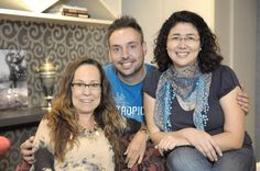 Foto: Juarez Godoy — com Regina Gouvea, Dirceu Grobmann Junior e Luciana Teixeira em  Big Mídia Produções.