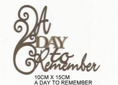 SC Die-cuts: COUNTRY CLUB - A Day to Remember, Simply Creative
