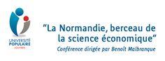 """""""La Normandie, berceau de la science économique"""", conférence de l'Université Populaire de #Louviers."""