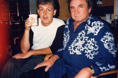 Paul McCartney & Johnny Cash