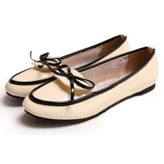 Patent Leather Round Toe Loafer $15