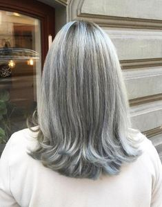 60 Gorgeous Gray Hair Styles - Best Hairstyles & Haircuts for Men and Women in 2019 Hairstyles Over 50, Older Women Hairstyles, Hairstyles Haircuts, Straight Hairstyles, Trendy Hairstyles, Grey Haircuts, Layered Haircuts, Pageant Hairstyles, Scene Hairstyles
