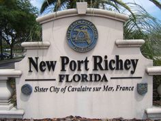 New Port Richey, Florida is the Sister City of Cavalaire sur Mer, France New Port Richey Florida, Tampa Florida, Florida Travel, Florida Home, Travel Usa, Tampa Bay, Car Accident Injuries, Pasco County, Sister Cities