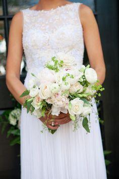 spring wedding bouquet, peony garden rose ranunculus bouquet   Alexas Photography   Private Estate Wedding   Charlotte, NC Wedding Planner