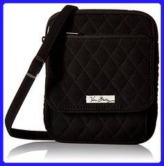 Vera Bradley Mini Hipster Cross Body / Shoulder Bag in Classic Black - Crossbody bags (*Amazon Partner-Link)