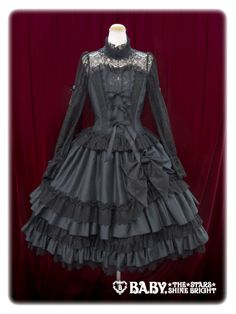 Lace maschera appliquéd one piece dress By Alice and the Pirates/ Baby, the stars shine bright