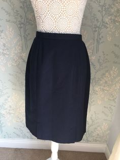 22bb2361 C&A Womens Classic Navy Blue A-line Skirt Size 14 Summer #fashion #clothing  #shoes #accessories #womensclothing #skirts (ebay link)