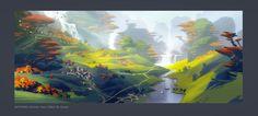 Skyforge. Autumn Setting 03 by Andead.deviantart.com on @DeviantArt