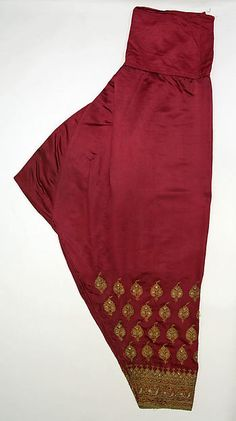 Trousers, early 19th century. Indian. © The Metropolitan Museum of Art