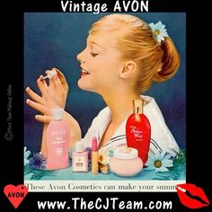 Vintage #Avon - Cosmetics to Make Your Summer. Step back in time and see this 1957 ad from #Seventeen and find Cosmetics that make your summer! Avon had you covered in your favorites then as well as now. Regularly $1.99 and up. Shop online with FREE shipping with any $40 online Avon purchase. #CJTeam #Sale #Makeup #Cosmetics #Vintage #1957Avon #NEW Shop Avon #C20 Cosmetics online @ www.TheCJTeam.com