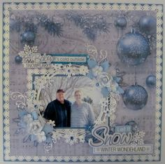 Let it Snow - Dec. 2015 - Kaisercraft - Silver Bells Collection - Christmas