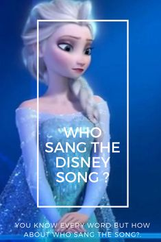 Whether you're singing a tale as old as time or running just around the river bend, you know that Disney has some of the greatest songs ever. From the animated characters to the live action singers, can you recognize who sang these popular Disney tunes? Find out with this quiz!