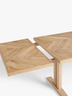 Buy John Lewis & Partners Estate Seater Extending Dining Table, Natural from our Dining Tables range at John Lewis & Partners. 12 Seater Dining Table, Extendable Dining Table, Dining Table Chairs, Dining Furniture, New Furniture, Kitchen Tables, Dining Area, Kitchen Ideas, Lacquer Furniture
