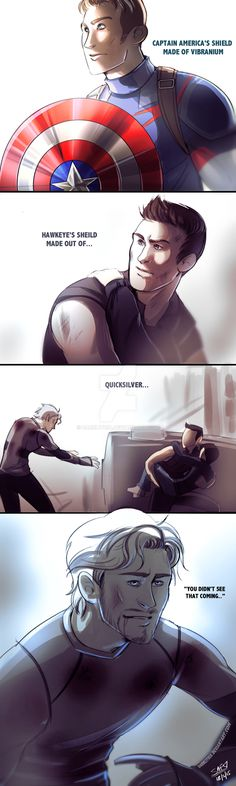 """I'm gonna hurt whoever made this up. I'm just kind here like """"Excuse me? Did I give you permission to die, Pietro?""""... too soon"""