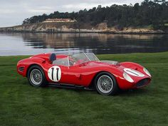 Ferrari TR59 Fantuzzi Spyder 1960 Le Mans winner driven by Olivier Gendebien and Paul Frere