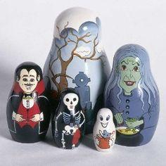 Halloween Nesting Doll