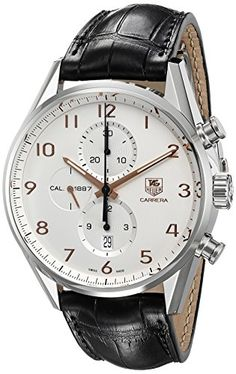 TAG Heuer Men's CAR2012.FC6235 Carrera Stainless Steel Wa...
